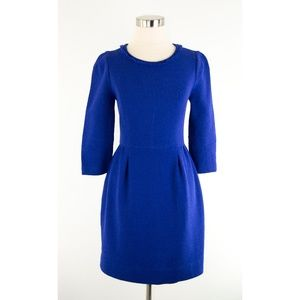 J. Crew Teddie Cobalt Blue Dress 2